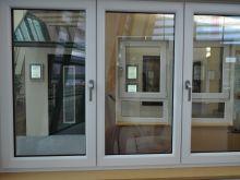 Трехстворчатое окно Шуко с надежной фурнитурой