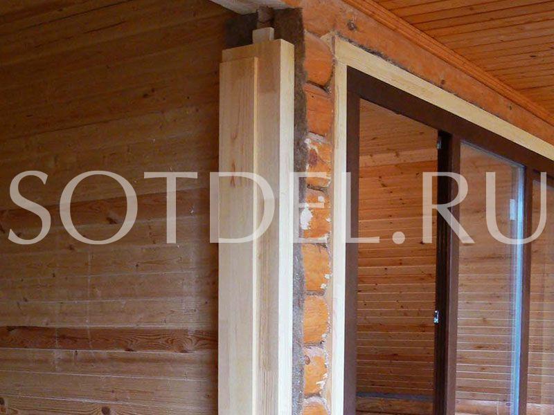 Окосячка, обсада в деревянном доме от производителя