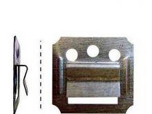Кляймеры для панелей МДФВ качестве крепежа панелей к каркасу, применяются хитрые скобки, называемые кляймеры.