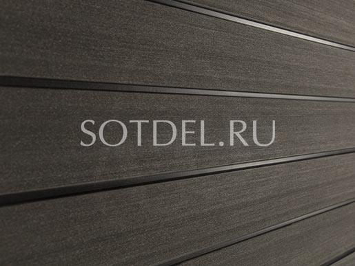 Заборы и ограждения  Заборный профиль SW Agger, цвет Темно-коричневый цена 433 руб. за пог. м