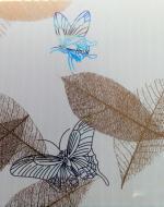 Стеновые панели DekoStar коллекция Магия, цвет Бежевый листопад, 127