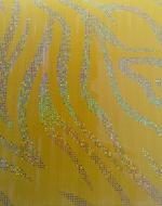 Стеновые панели DekoStar коллекция Магия, цвет Жёлтый зебрано, 23-13