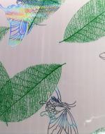 Стеновые панели DekoStar коллекция Магия, цвет Зелёный листопад, 127-2