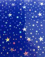 Стеновые панели DekoStar коллекция Магия, цвет Синий звездопад, 29-15