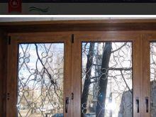 Ламинация на окнах Proplex под дерево