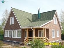 отделка фасада сайдингом деревянного дома