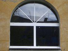 Пластиковые окна Schuco в форме арки