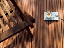 Профиль terraza, сторона профиля fino Профиль terraza, сторона профиля fino, цвет terracotta (терракотовый)