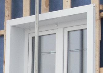 Как обшить окна сайдингом