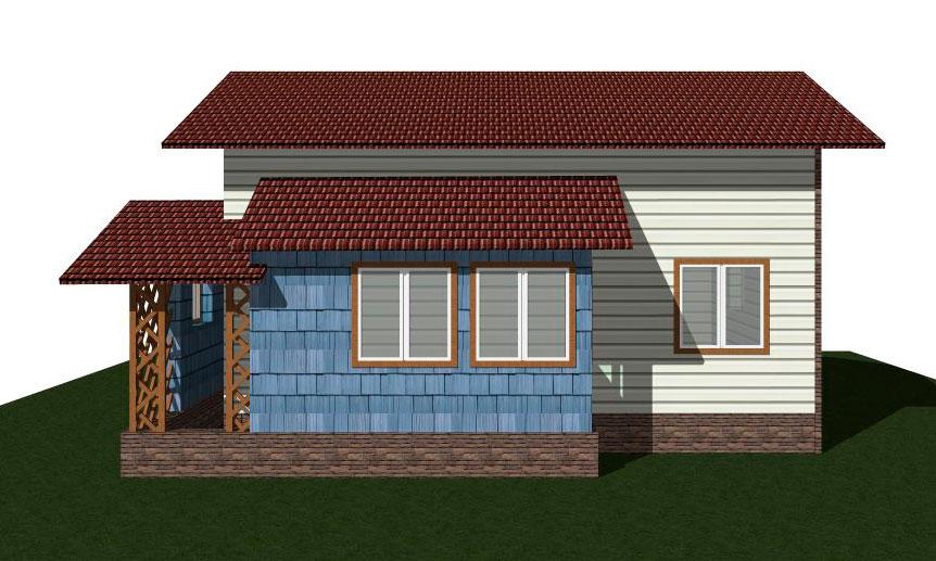 Проекты и планировка одноэтажных домов и коттеджей 6х6