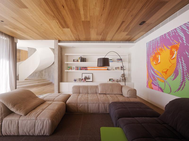 Дизайн потолок дерево