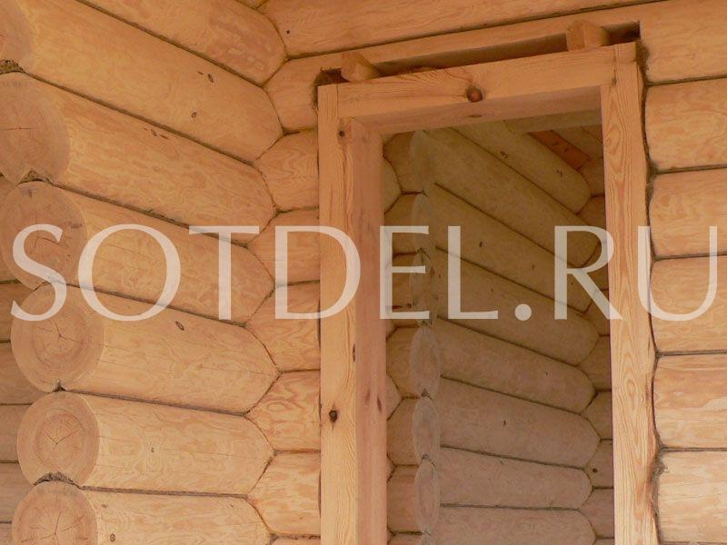 Окосячка домов от 3000 руб. за проём