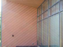 Отделка балкона сайдингом Savewood