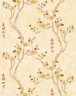 Стеновые панели Нико Пласт коллекция Цветы Азии, цвет 9008/2 Японская вишня