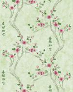 Стеновые панели Нико Пласт коллекция Цветы Азии, цвет 9008/3 Молодая сакура