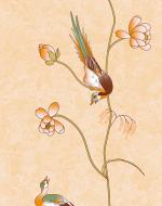 Стеновые панели Нико Пласт коллекция Цветы Азии, цвет 9005/2