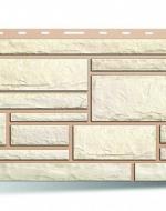 Цокольный сайдинг Альта-Профиль, коллекция «Камень» Белый