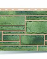 Цокольный сайдинг Альта-Профиль, коллекция «Камень» Малахит