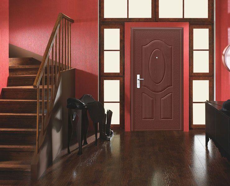 дизайн входной наружной двери